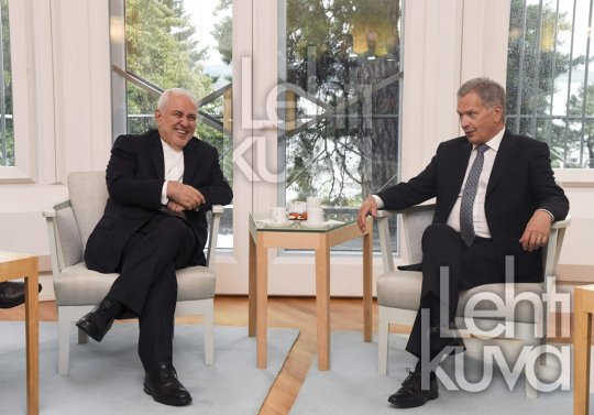 Foreign Minister of Iran Mohammed Javad Zarif